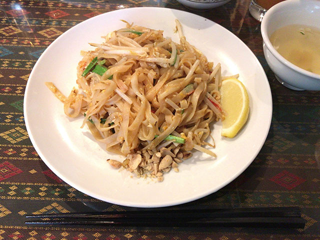 立川のタイ料理店「タイアヨタヤレストラン」はランチが美味しい!居心地も良くおすすめ