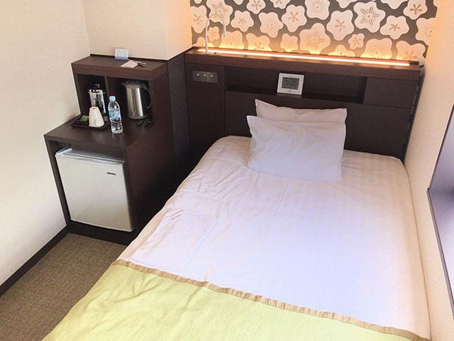 品川東武ホテルの部屋ベッドの画像その2