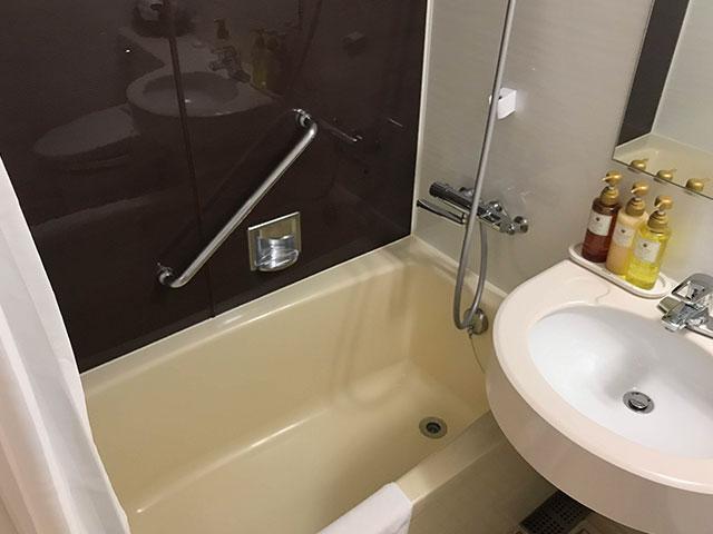 品川東武ホテルの部屋お風呂場の画像その2
