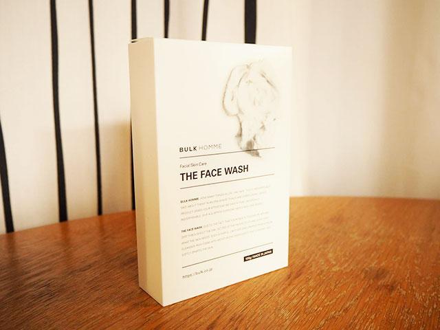 バルクオム洗顔料THE FACE WASH外箱の画像