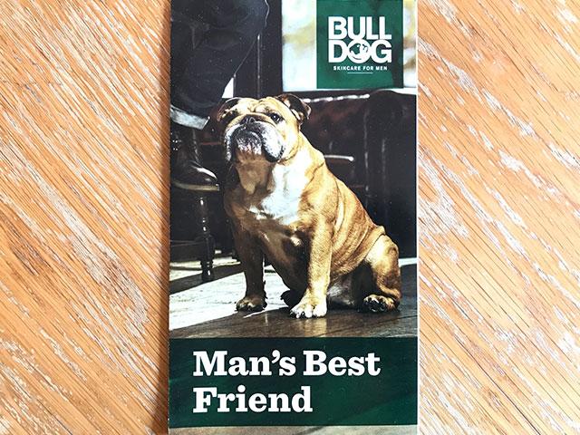 メンズスキンケアブランドbulldogのイメージ画像