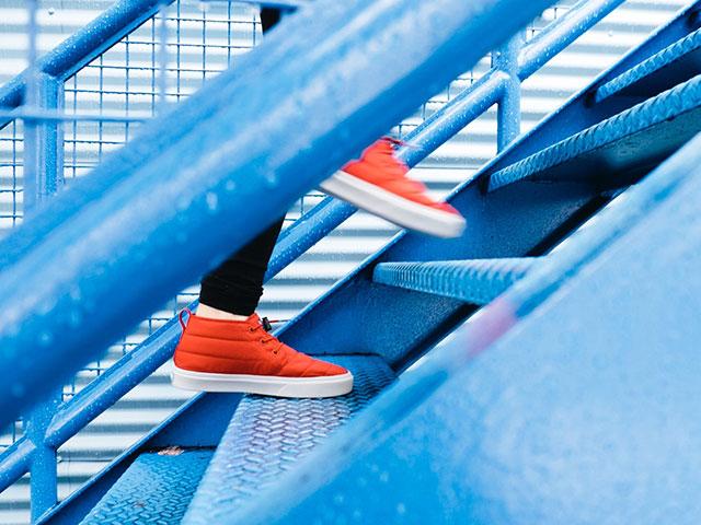 新しい一歩イメージ画像