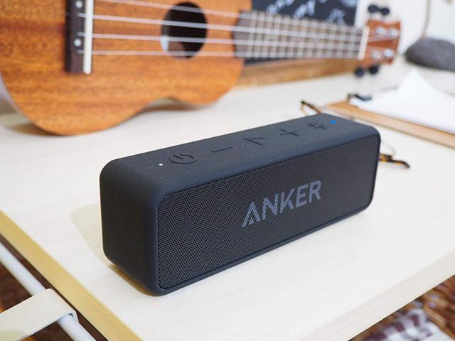 Anker「Soundcore2」はインテリアに馴染んでくれる画像
