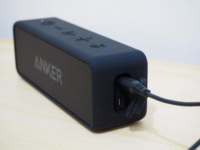 AUX接続の画像