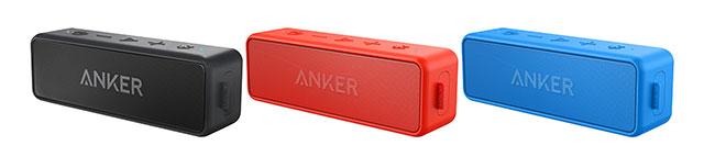 Anker「Soundcore2」カラーバリエーション
