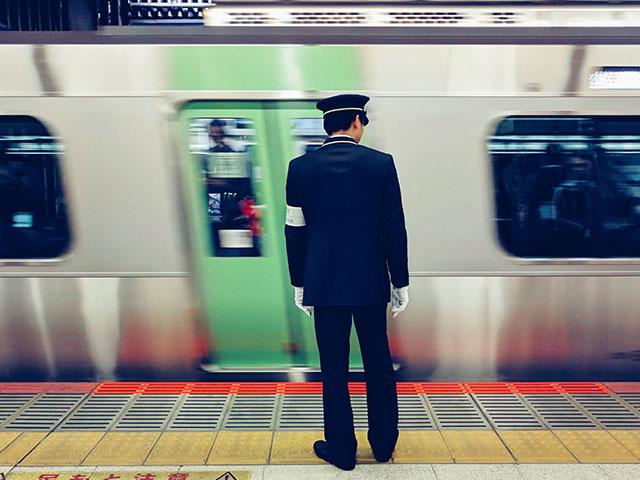 日本の電車の画像